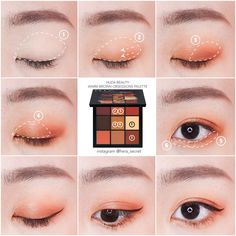 Hera s Secret by Hera Wong on / Eyes za_taiwan shophudabeauty Korean Makeup Look, Korean Makeup Tips, Asian Eye Makeup, Korean Makeup Tutorials, Eye Makeup Glitter, Kiss Makeup, Eyeshadow Makeup, Beauty Makeup, Ulzzang Makeup