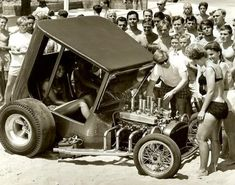 """""""Uncertain T"""" - a famous hot rod show car in the 60s."""