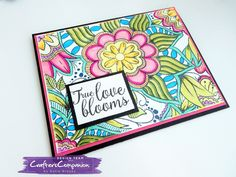 Happy Tuesday! I believe today is a good day for some color! OK, if you love to color these Crafter's Companion Colorista Background sta...