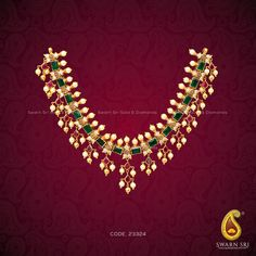 Gold Jewelry Rules Everything – Gold Jewelry for any purpose Gold Necklace Simple, Gold Jewelry Simple, Gold Jhumka Earrings, Gold Jewellery Design, Emerald Jewelry, Schmuck Design, Jewelry Patterns, Necklace Designs, Bridal Jewelry
