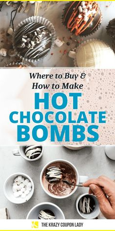 Looking for hot chocolate bombs or hot cocoa bombs? Kids and adults alike are infatuated with them! Hot chocolate bombs are the hottest winter treat right now that are getting hard to find. The Krazy Coupon Lady has you covered with where you can buy them and even how to make your own easy DIY hot chocolate bombs. A hot chocolate bomb is like a bath bomb full of chocolate and marshmallows for your cup of warm milk — drop it into a mug and within seconds, you've got a complete cup of hot…