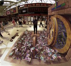 New Illusionary Three-Dimensional Street Art by Kurt Wenner - My Modern Metropolis
