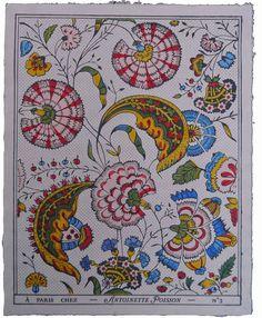 Antoinette Poisson I Wallpaper Motifs Textiles, Vintage Textiles, Textile Prints, Textile Patterns, Vintage Patterns, Vintage Prints, Textile Design, Color Patterns, Fabric Design