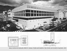 Banco Central de Venezuela 1960-67, Caracas. Tomás José Sanabria