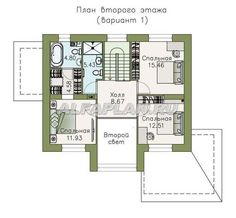 План 2 (зеркальный) Catalog, House Plans, Floor Plans, House Design, How To Plan, Villa, Blueprints For Homes, Home Plans, Architecture Illustrations