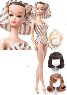 2010 My Favorite Barbie Fashion Queen Reproduction (I want her! She can sit wit my original Fashion Queen Barbie! :-) )