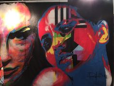 Piece by L.A. artist Rolland Berry LA ART SHOW 2015, Los Angeles, CA,