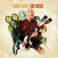 Danko Jones - Fire Music (2015) Hard Rock band from Canada #DankoJones #HardRock