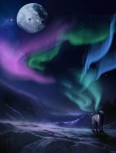 Wolf Song by Emerald-Depths on deviantART (and Aurora )