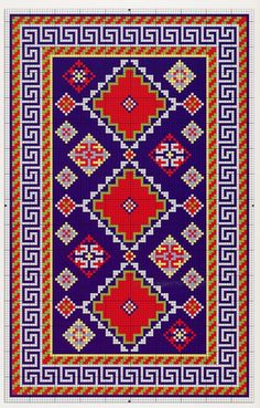 Carpet Runners For Stairs Uk Embroidery Patterns, Cross Stitch Patterns, Free Watercolor Flowers, Traditional Tapestries, Eagle Painting, Tapestry Crochet Patterns, Fabric Painting, Cross Stitch Designs, Rugs On Carpet