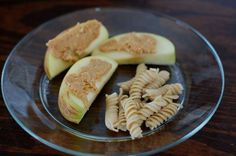 apple and noodle snack