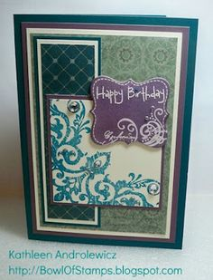 Life's like a Bowl of Stamps: August SOTM Blog Hop!
