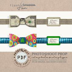 dollar bowtie collar, catnip, funny bowtie, photo prop, dog cat bowtie collar, hippie bowtie, printable, id tag, cat party, fashion collar by FlashFun on Etsy https://www.etsy.com/listing/510918324/dollar-bowtie-collar-catnip-funny-bowtie
