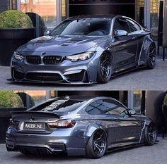 BMW grey widebody - New Sites M2 Bmw, Bmw E46, F30 M3, Lamborghini, Ferrari, Tuning Bmw, Carros Bmw, Cj Jeep, Bmw Classic Cars