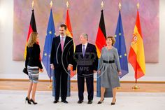 Spanish King and Queen visit Berlin - Monarchy Press Europe