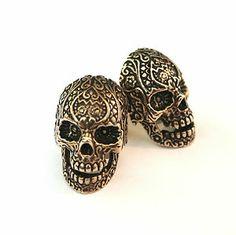 Dia de los Muertos cufflinks
