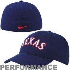 8ea52642c7f Nike Texas Rangers Legacy 91 Swoosh Dri-FIT Flex Performance Hat - Royal  Blue Texas