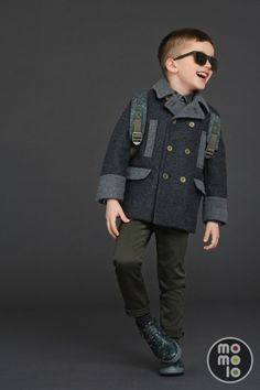 35 Super Ideas For Fashion Kids Boys Dolce & Gabbana Kids Fashion Wear, Kids Winter Fashion, Little Boy Fashion, High Fashion, Dolce Gabbana 2016, Dolce And Gabbana Kids, Outfits Niños, Baby Boy Outfits, Kids Outfits