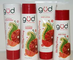 gud by Burt's Bees Red Ruby Groovy Collection am loving the shampoo it has worked better than any other high end product