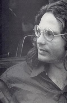 Jim Morrison about 2 weeks before he died.