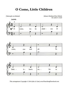 1000+ images about Christmas Piano Sheet Music printable for all ages and levels on Pinterest ...