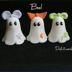 Resultado de imagen para polymer clay halloween bat