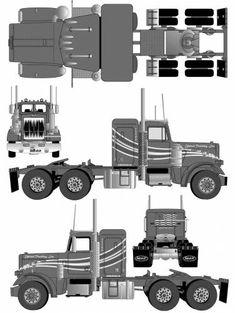 Peterbilt 359 Tractor