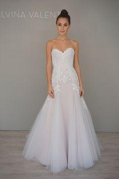 Alvina Valenta Style 9607 lace wedding dress