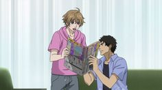 Samurai Flamenco ~~ Masayoshi is VERY excited about something, Goto! Are YOU in the paper today? Samurai Flamenco, Tiger And Bunny, Very Excited, New Series, Marry Me, Got Married, Hero, Paper, Anime