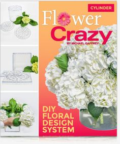"""Flower Crazy by Michael Gaffney DIY Floral Design System  // // // 3e3;case""""diversity"""":return…"""