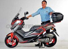 Modifikasi Motor Yamaha Nmax Ban Racing