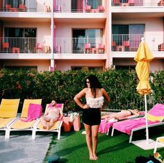 Justina Blakeney - Retro fit swimsuit by Albion Fit - Modernism Week Roundup