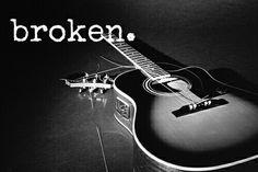 Broken.