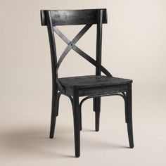 *similar* Formal Dining Chairs $240/pair!! Black French Bistro Side Chairs, Set of 2