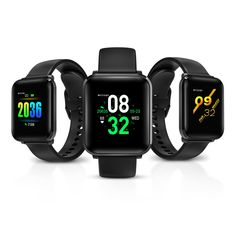 [Blood Oyxgen] BlitzWolf® BW-HL1 Heart Rate Blood Pressure Monitor 8 Sports Mode IP68 Waterproof Multi-language Display Health Care Smart Watch - Black Multifunctional Smart Watch - Activity Tracker: Pedometer, sleep monitoring Alarm clock, Image viewer, Camera fossil watches smart smart ones girls watches smart watches for women best smart watch cute watches watch it smart points fitness watches weight watches #men style #women fashion #kids #girls #men android