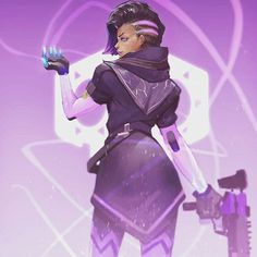 311/366. Just incase you guys don't have enough Sombra on your newsfeed yet. #overwatch