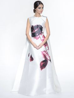 Elegance with a touch of romance is this Pamplina Dress by Isabel Sanchis. Click image to shop.