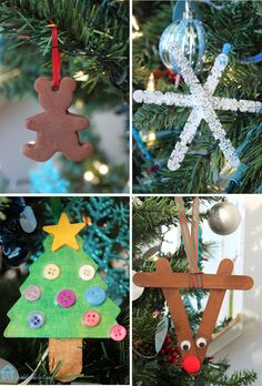 Ornaments to do with little kids