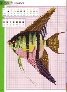 Blog de Ponto Cruz, com uma coleção de gráficos grátis para você! Cross Stitch Sea, Cross Stitch Animals, Cross Stitch Flowers, Cross Stitch Charts, Cross Stitch Designs, Cross Stitch Patterns, Cross Stitching, Cross Stitch Embroidery, Nemo