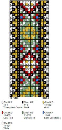 Perlesøm på stramei, bunad. – Vevstua Bull-Sveen Bead Loom Patterns, Cross Stitch Patterns, Bead Crochet Rope, Cuisines Design, Loom Beading, Deco, Beads, Beadwork, Charts