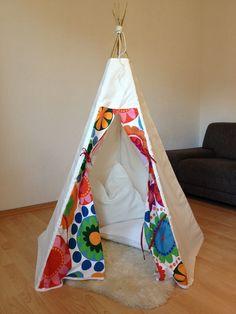 Did it myself :)  kid's Play tent, teepee