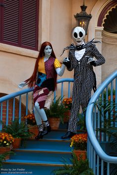 DL Oct 2011 - Meeting Jack and Sally by PeterPanFan, via Flickr Disneyland Resort, Anaheim, CA  Oct 13th, 2011