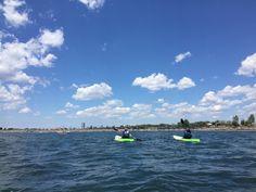 Kayaking class on 7-23-16 at Buffalo Harbor State Park