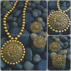 Terracotta Jewelry Set