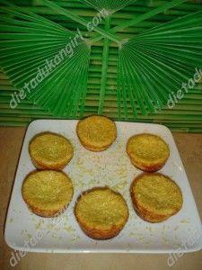 Dukan's diet cupcakes