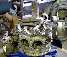 15 Pratt & Whitney R2800 Radial Engine