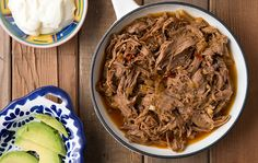 Barbacoa is a kind of Mexican barbecue where meats (usually beef) are wrapped in leaves with warming spices and baked in a pit. My version of barbacoa uses venison, but it tastes a lot like the barbacoa you'll get at Chipotle or in regular Mexican restaurants - it's an ideal taco or burrito meat.