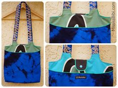 Tasche aus Tischdecke / Totebag made from old tablecloth / Upcycling