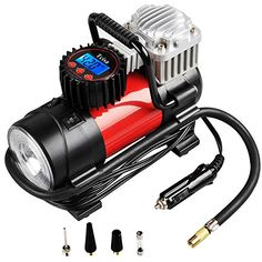 Portable Air Compressor Pump 150 PSI Tcisa 12V 140W Auto Digital Car Tire Inflator Gauge -- More info could be found at the image url. (This is an affiliate link and I receive a commission for the sales)