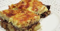 Cookbook Recipes, Cooking Recipes, Greek Recipes, Lasagna, Quiche, Food And Drink, Breakfast, Ethnic Recipes, Morning Coffee
